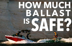 How much ballast is safe?