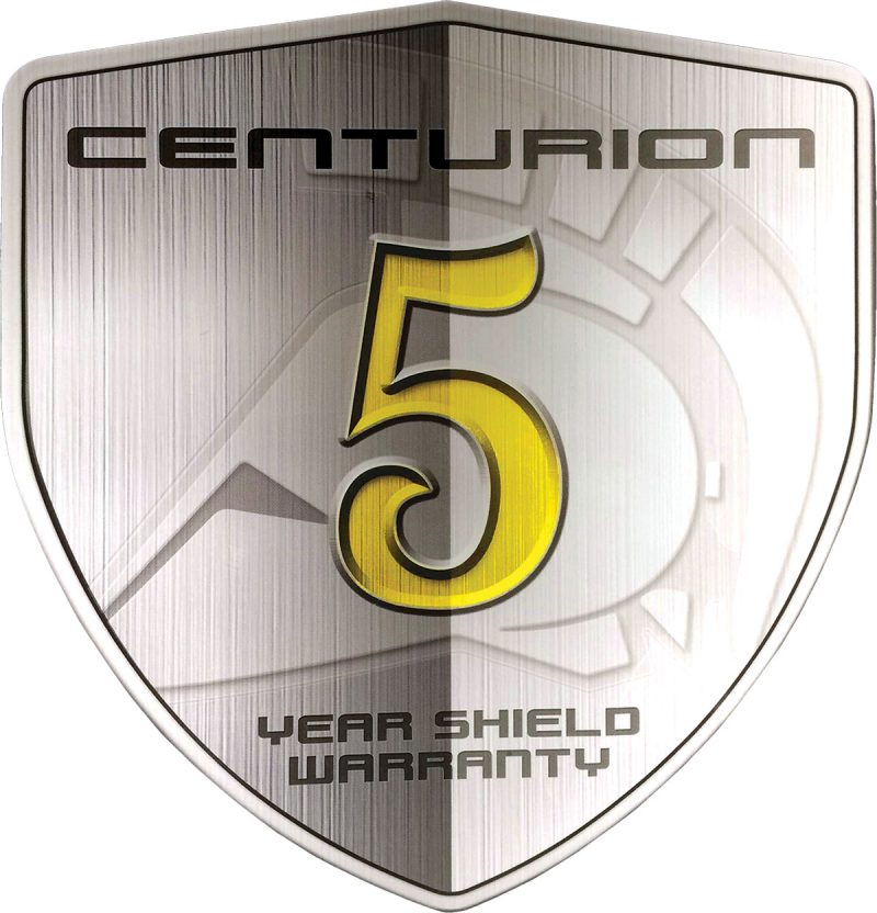 Centurion Warranty Badge